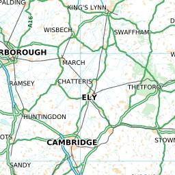Map Of Uk Roads.Uk Roads